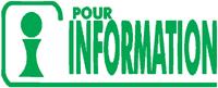 Printer 30 Formule  POUR INFORMATION